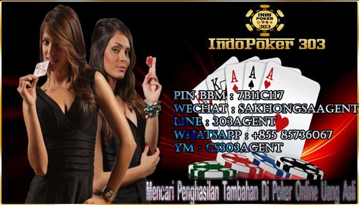 Lewat Poker Online Indonesia Mendapat Penghasilan Tambahan