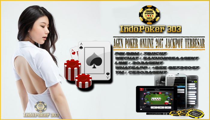 Agen Poker Online 2017 Jackpot Terbesar