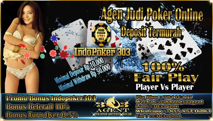 Agen Judi Poker Online Deposit Termurah