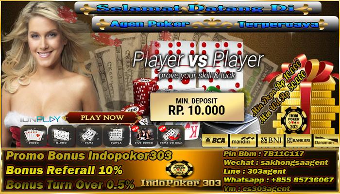 Berbagai Macam Bonus Di Dalam Poker Online Indonesia