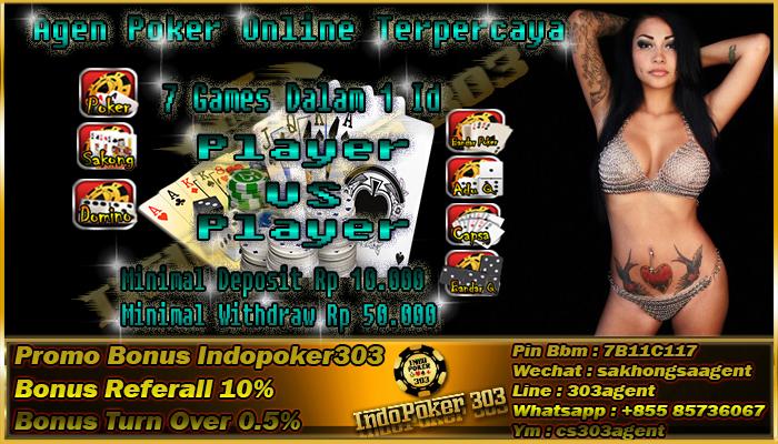 Tempat Bermain Taruhan Poker Online Terpercaya