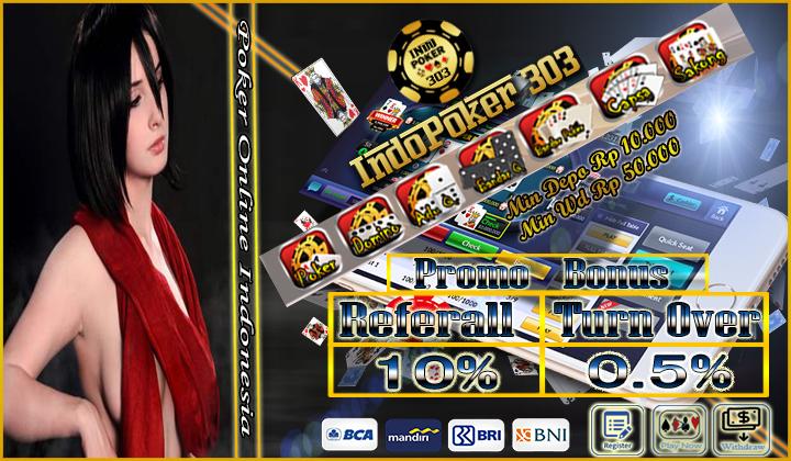 Situs Judi Domino QQ Online 100% Tanpa Robot