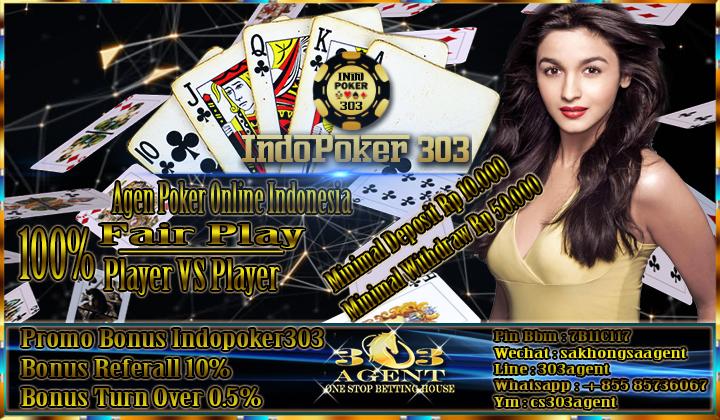 Bermain Poker Online Indonesia Di Agen Poker Teraman