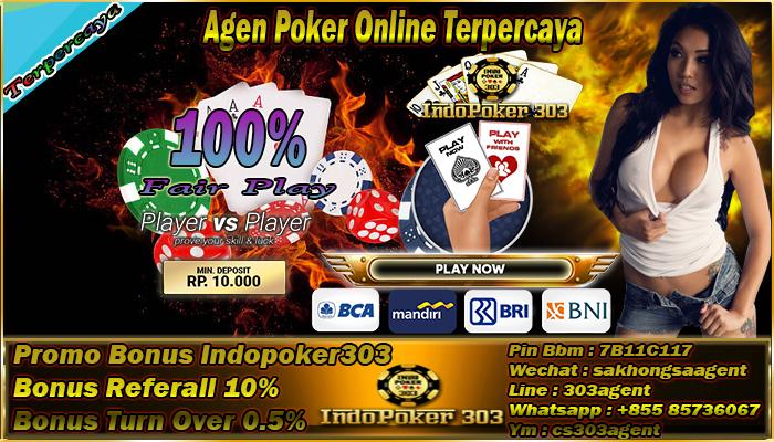 Fasilitas Terbaik Agen Poker Online Indonesia
