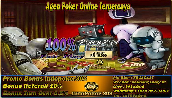Mengenal Tentang Robot Atau Bot Pada Poker Online